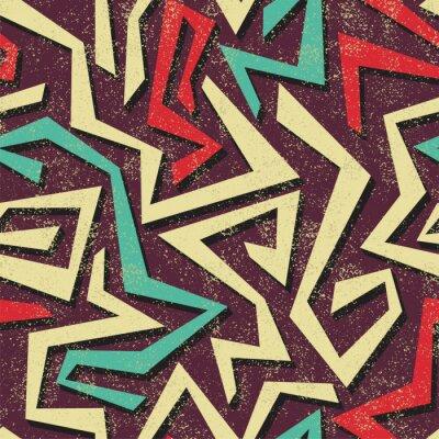 Papiers peints Absract, seamless graffiti. Vecteur