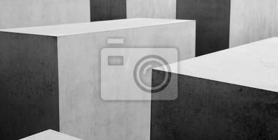 Papiers peints Abstract b&w geometrical pattern