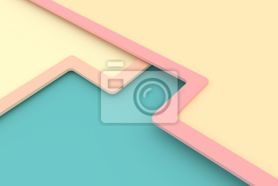 Papiers peints Abstract background. 3D rendering.