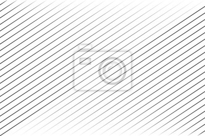 Papiers peints Abstract black blend lines with oblique stripe on white background vector illustration