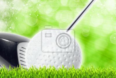 abstract golf sport art backgrounds