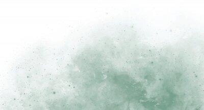 Papiers peints Abstract green watercolor background for your design, watercolor background concept, vector.