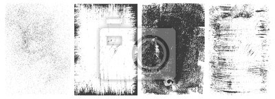 Papiers peints Abstract grunge rectangular frames collection