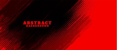 Papiers peints abstract red and black grunge background design