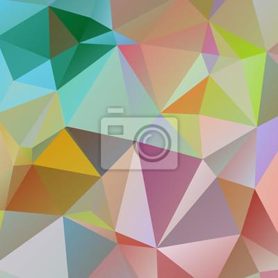 Abstrait arrière-plan géométrique de polygone triangulaire
