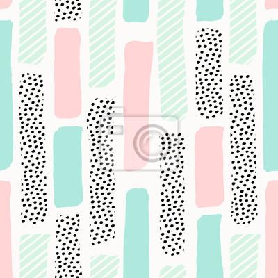 Abstrait Brush Strokes Pattern