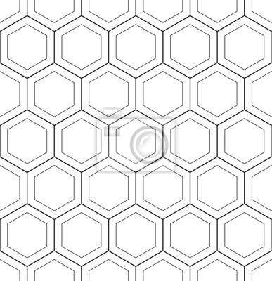 Abstrait géométrique modèle hoenycomb sans soudure vecteur hexagonal triangulaire fond grille texture