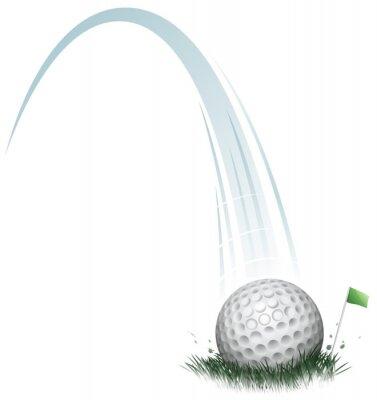 Papiers peints action balle de golf