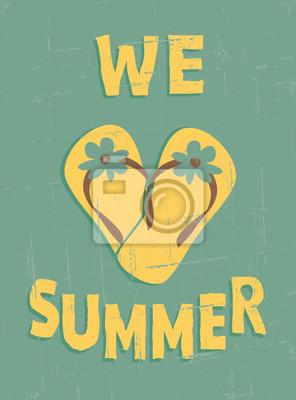 Affiche de cru d'été
