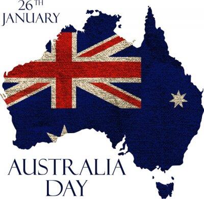 Papiers peints Affiche du jour de l'Australie
