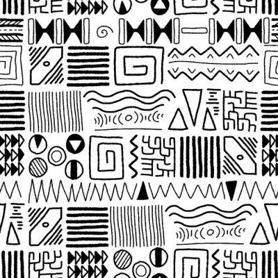 Papiers peints African pattern