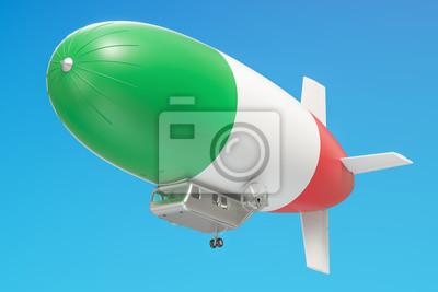 ballon dirigeable en papier