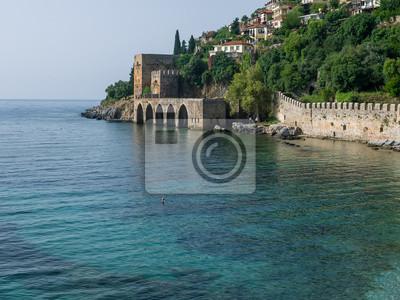 Alanya forteresse et la mer
