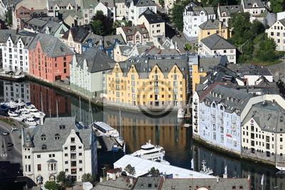 alesund Città della norvegia