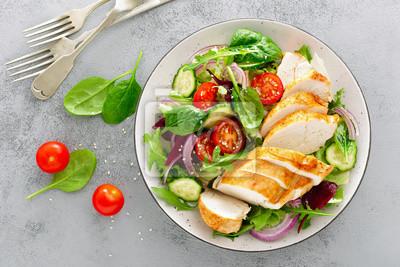 Papiers peints Aliments diététiques. Vue de dessus