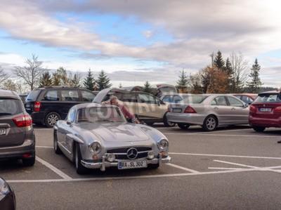 Papiers peints Allemagne, Baden-Baden - 05 novembre 2015: Mercedes légendaire