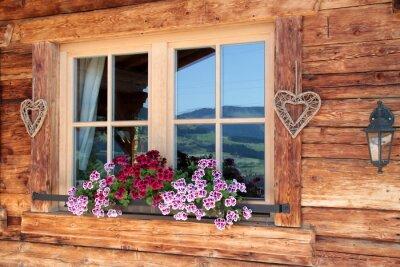 Papiers peints Alpes dans la fenêtre