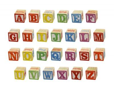 Papiers peints Alphabet Blocks
