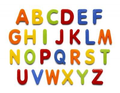 Papiers peints Alphabet magnétique