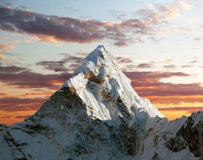 Papiers peints Ama Dablam sur le chemin du camp de base de l'Everest