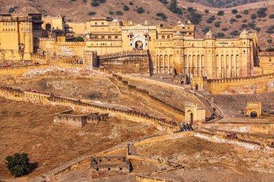 Papiers peints Amer Amber fort, Rajasthan, Inde