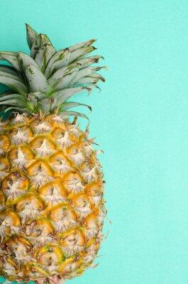 Papiers peints Ananas, fruit, vert, fond