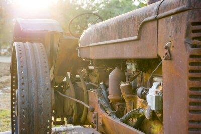 Papiers peints Ancien tracteur agricole