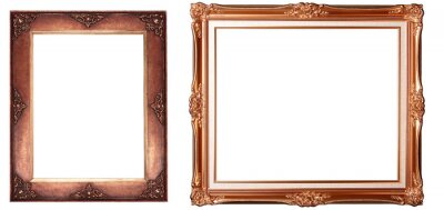 Papiers peints antique isolated picture frame