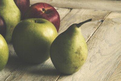 Papiers peints Apple et poire