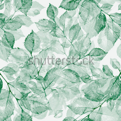 Papiers peints Aquarelle brillante merveilleuse feuilles. Z. Merveilleuse. Rétro Ancien. Tonique.