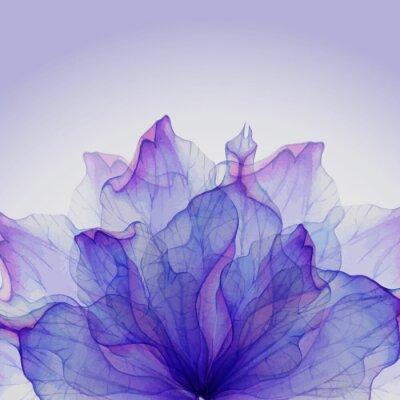 Papiers peints Aquarelle motifs floraux ronds.