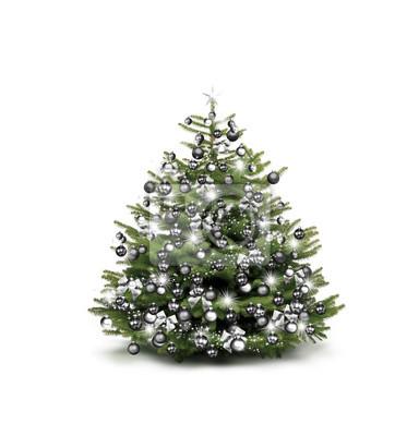 arbre de Noël Argent