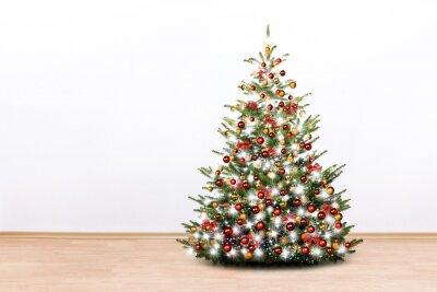 arbre de Noël dans la chambre