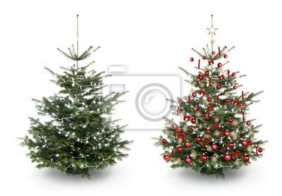 arbre de Noël décoré