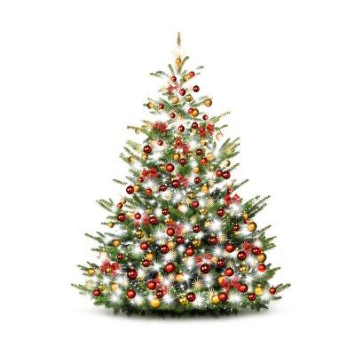 arbre de Noël décoré de fête