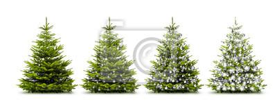 arbres de Noël Argent