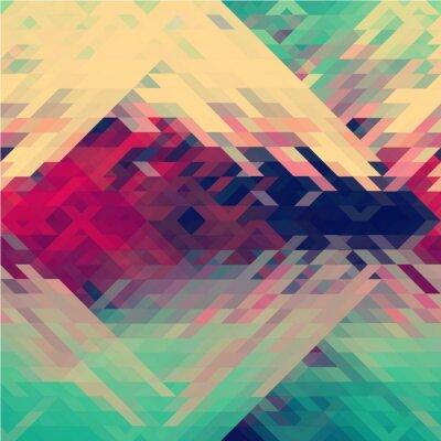 Papiers peints Arc-en-ciel, couleurs, triangulaire, vecteur
