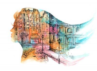 Papiers peints architecture