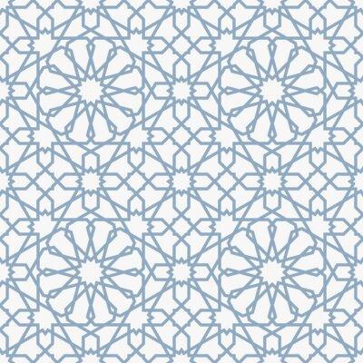 Papiers peints Arrière-plan avec pattern dans le style islamique