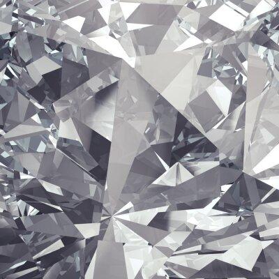 Papiers peints arrière-plan de la facette en cristal