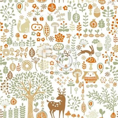 Arrière-plan transparent avec la forêt en automne