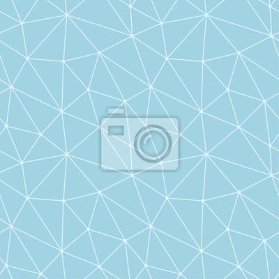 Arriere Plan Transparent Polygonale Motif Geometrique Bleu Et