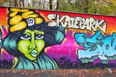 Papiers peints Art de mur de briques Graffiti en Allemagne