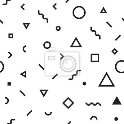 art Seamless abstrait forme géométrique de papier peint