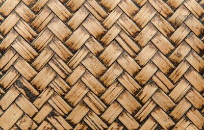 Papiers peints Artisanat bambou tissage texture pour le fond