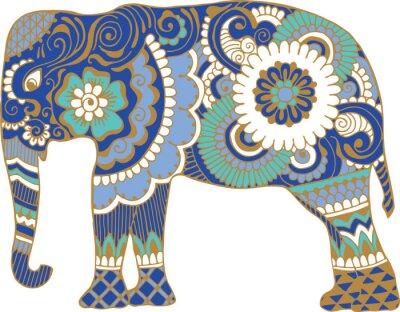 Papiers peints Asiatique, éléphant, modèles