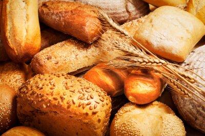 Papiers peints Assortiment, cuit, pain, blé