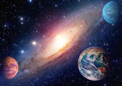 Papiers peints Astrologie astronomie terre espace solaire système solaire mars planète laiteux voie galaxie. Éléments de cette image fournis par la NASA.