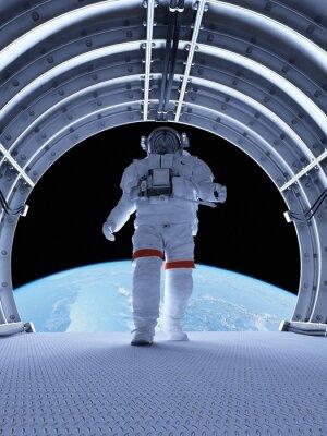 Papiers peints Astronaute dans les tunnels