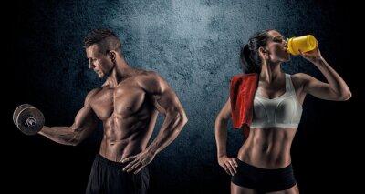 Papiers peints Athletic homme et femme